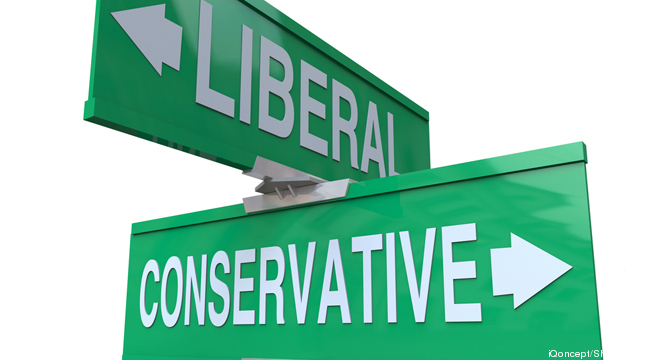 never sell a liberal the same way as a conservative