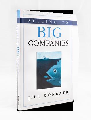jill konrath selling to big companies pdf