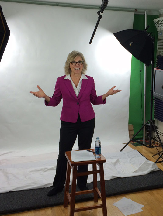 Jill Konrath video strategy session